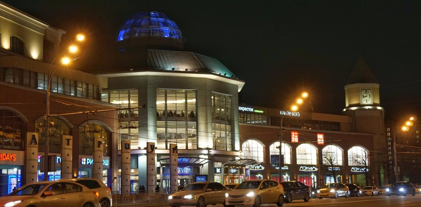 Один из самых крупных и посещаемых торговых центров Москвы b316a116af9